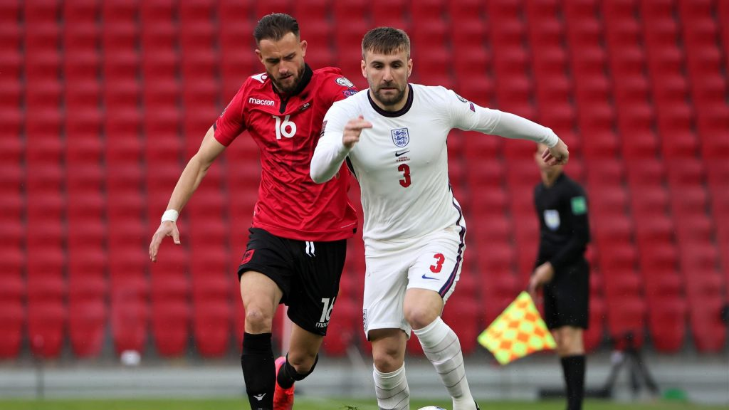 Shaw expressed his feelings for england national team On the road to the Euro 2020 Championship