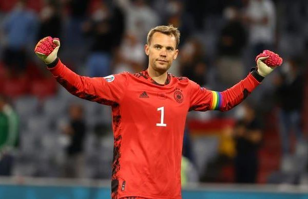 Pickford reveals his heart after swapping shirts with idol Manuel Neuer