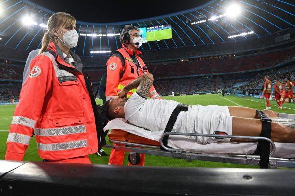 Spinazzola ruptured Euro 2020
