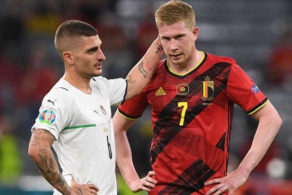 De Bruyne reveals he forced to play Belgium vs Italy